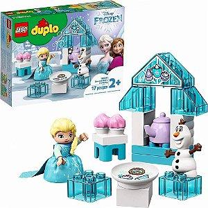 LEGO DUPLO  DISNEY  10920 FROZEN A FESTA DO CHÁ  DA ELSA  E DO OLAF