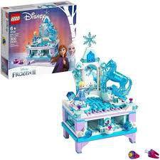 Lego Disney Frozen II A Criação do Porta Joias da Elsa-41168
