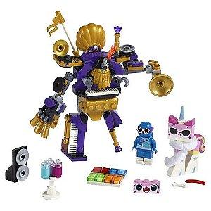 BRINQUEDO LEGO THE  MOVIE  2 TRIPULAÇÃO DA FESTA  DE SYSTAR- 70848