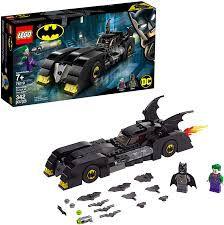 LEGO SUPER HEROES  DC COMICS BATMAN  BATMOVEL  PERSEGUIÇÃO  DO CORINGA  76119