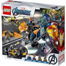 LEGO ATAQUE  DE CAMINHÃO DOS VINGADORES- 761433