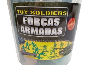 BALDÃO COLEÇÃO FORÇAS ARMADAS MINIATURAS E ACESSORIOS GULLIVER 602