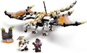 LEGO NINJAGO ODRAGÃO DE COMBATE DE WU 71718