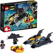 LEGO DC COMICS PERSEGUIÇÃO DE PINGUIM EM BATBARCO 76158  54 Peças