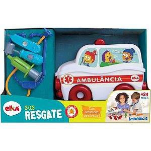SOS RESGATE AMBULÂNCIA ELKA- 1119