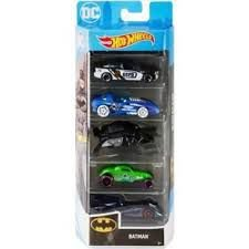 HOT WHEELS CONJUNTO C/5 CARROS  BATMAN 1806/ GHP54  - MATTEL