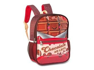 MOCHILA INFANTIL CLIO PETS CHOCOLATE MARROM - 2055