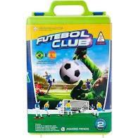 JOGO FUTEBOL CLUB COMPLETO COM MALETA BRASIL  E ESPANHA GULLIVER 1993