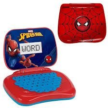 LAPTOP INFANTIL DO SPIDER  MAN BILINGUE - CANDIDE  5833