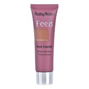 BASE LIQUIDA FEELS BOMBOM 10  RUBY ROSE TEXTURA MOUSSE