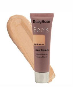 BASE LIQUIDA FEELS DOCE DE LEITE 80 TEXTURA MOUSSE RUBY ROSE