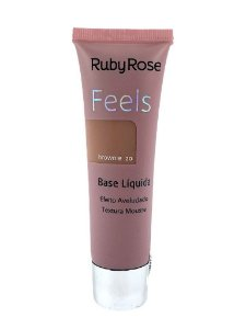 BASE LIQUIDA FEELS BROWNIE 20 TEXTURA MOUSSE RUBY ROSE