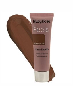 BASE LIQUIDA FEELS BRIGADEIR0 100 TEXTURA MOUSSE RUBY ROSE