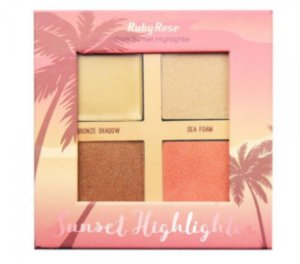 ILUMINADOR SUNSET DARK HIGHLIGHT RUBY ROSE  HB - 7504 D