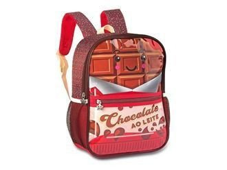 MOCHILA INFANTIL CLIO PETS CANDY TRUCK  CHOCOLATE - 2055P