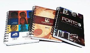 Agenda Personalizada 2021 Corporativa para Empresas Com Logotipo 10 unidades