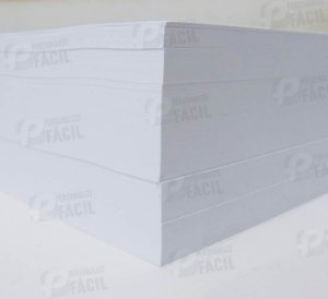 Papel Offset A5 240g Sulfite 240gr Branco 1000 Folhas 14,8x21 cm Para Jato de Tinta Ou Laser