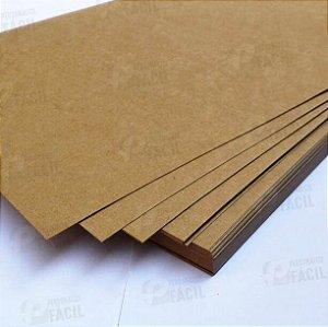 Papel Kraft A5 180g / 170g Rústico Para Artesanato 500 Folhas 21x14,8 cm