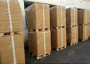 Papel Kraft 90g Marrom 20 Folhas 66x96 cm para embrulho