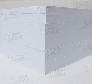 Papel Couche 170g / 180g A4 Brilho ou Fosco para impressoras laser 500 Folhas