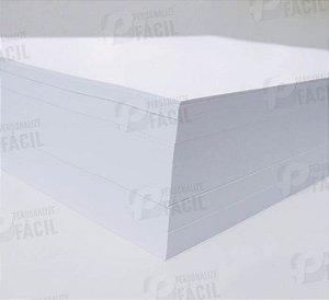Papel Couche 250g A4 Brilho ou Fosco para impressoras laser 500 Folhas