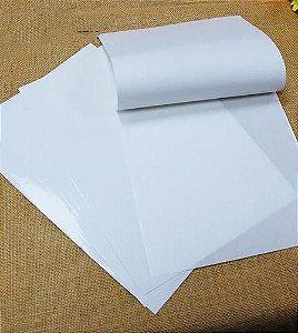 Papel Adesivo Brilho Brilhante A3 Para Laser 100 Folhas 42x29,7 cm