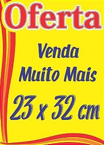 300 Cartazes Oferta Splash Promoção Supermercado 150 De Cada Medida