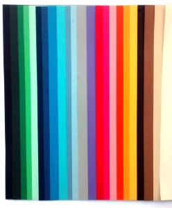 54 Fls Papel Sulfite Colorido 180g A4 Para Silhouette Color