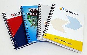 10 Cadernos Personalizados Corporativo Para Empresas Logo