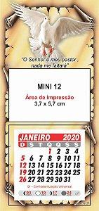 100 Mini Calendário Imã Geladeira 2020 Personalizado Bíblia