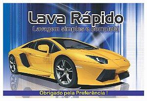 Tapete De Carro Descartável Lava Rápido Papel 500 Fls Oferta