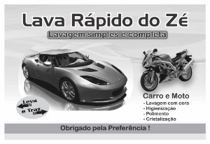 1000 Tapetes Papel Lava Jato Rápido Personalizado P/ Carro