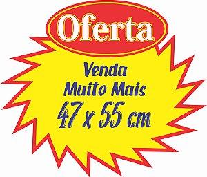 Cartaz Splash 100 Unid Oferta Promoção 47x55 Supermercado