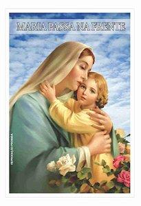 Milheiro Santinho Maria Passa Na Frente Oração De Promessa