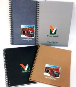 10 Cardápios Personalizados A4 Hotéis Restaurante Lanchonete