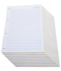 200 Folhas Refil De Caderno Argolado Universitário Fichário
