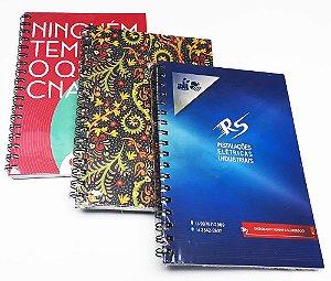 20 Cadernos Personalizados P/ Empresa  Logotipo 16x23