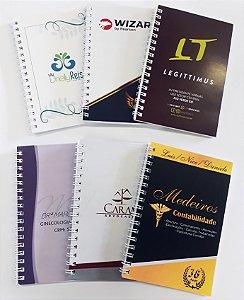 150 Agenda 10x15 Mini Agendinhas Personalizada Casamento Corporativa Batizado Aniversário