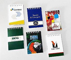 130 Bloquinhos Personalizado Caderneta Brinde C/ Logotipo Para Empresa 10x7