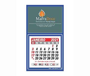 500 Mini Calendário Corporativo Personalizado com Logotipo