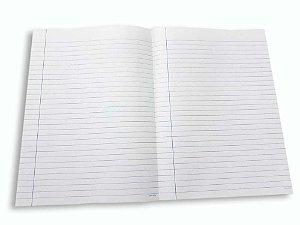 800 Folhas De Papel Almaço Com Pauta Pautado Dobrada Margem 20x27,5
