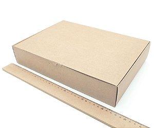 20 Caixa Kraft P/ Presente Correio 32x22,5x6 Embalagem Roupa