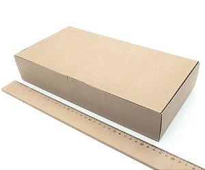 20 Caixas De Papel Kraft P/ Presente Embalagem Craft 32x16x6