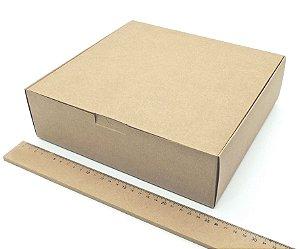 20 Caixas Organizadoras Kraft Presente Embalagem 25x23x7,5