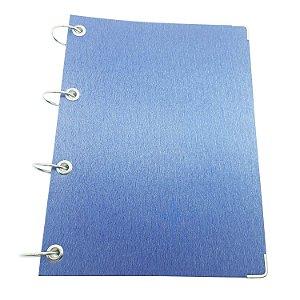 Caderno Universitário Argolado 10 Matérias Sem Pauta Azul