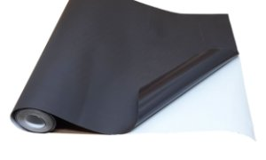 Rolo De 1 Metro De Manta Magnética Adesiva Imã De Geladeira