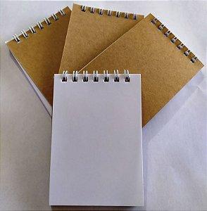 100 Mini Blocos De Anotação 10x15 Caderneta De Rascunho