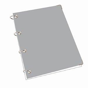 Caderno Argolado Fichário Universitário 200 Folhas Pautadas