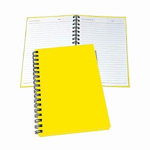 2 Cadernos Com Pauta Tipo Agenda Universitário Pequeno Uma Matéria 100 Folhas