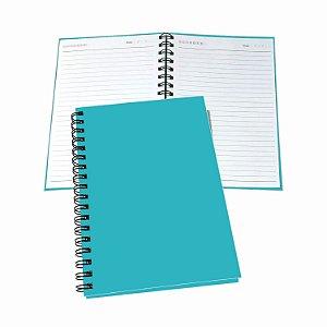 2 Cadernos Pequeno Com 100 Folhas Pautadas Uma Matéria Tipo Agenda Universitário